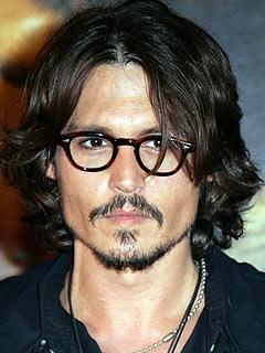 Johnny Depp The Skinny Stache Beard
