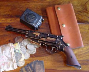 Captain Mal's gun from TV show Firefly. Too bad Firefly didn't have a longer life because I liked that show.