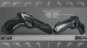cool sci fi gun